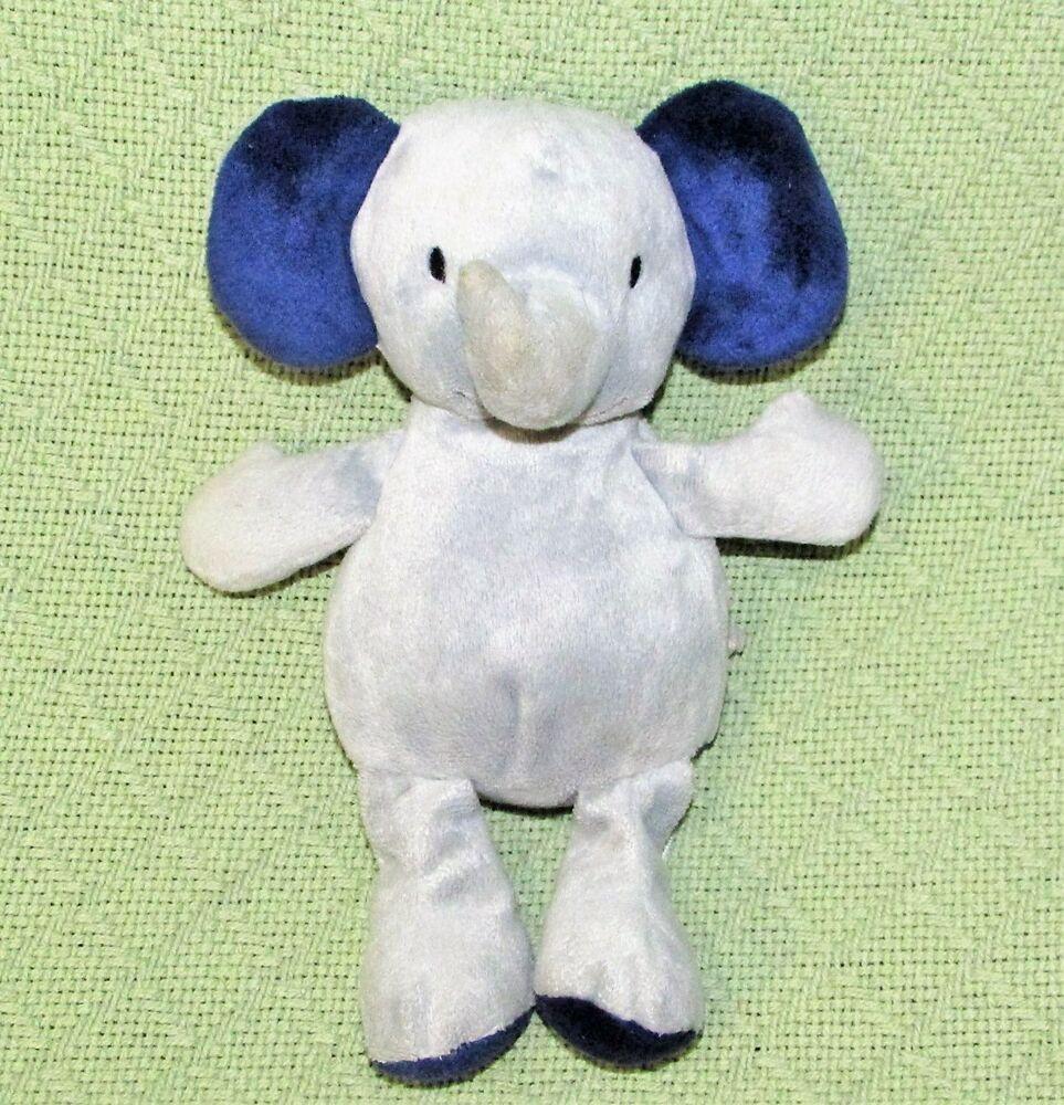 Carters Just One You Elephant Gray Dark Blue Plush 10 Stuffed Animal Baby Toy Cartersjustoneyou Animal Babies Toys Plush Stuffed Animals Baby Plush