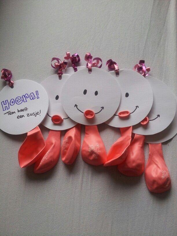 Einladung. Geburtstagseinladung DIY Luftballon Gesicht HalloBloggi