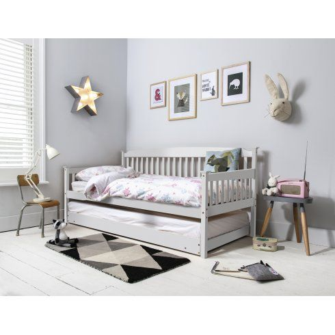Noa And Nani Isabella Day Bed In White With Pull Out