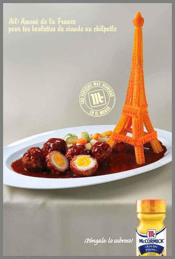 Torre Eiffel Ajo - MC | Vive la France! | Pinterest | Food ...