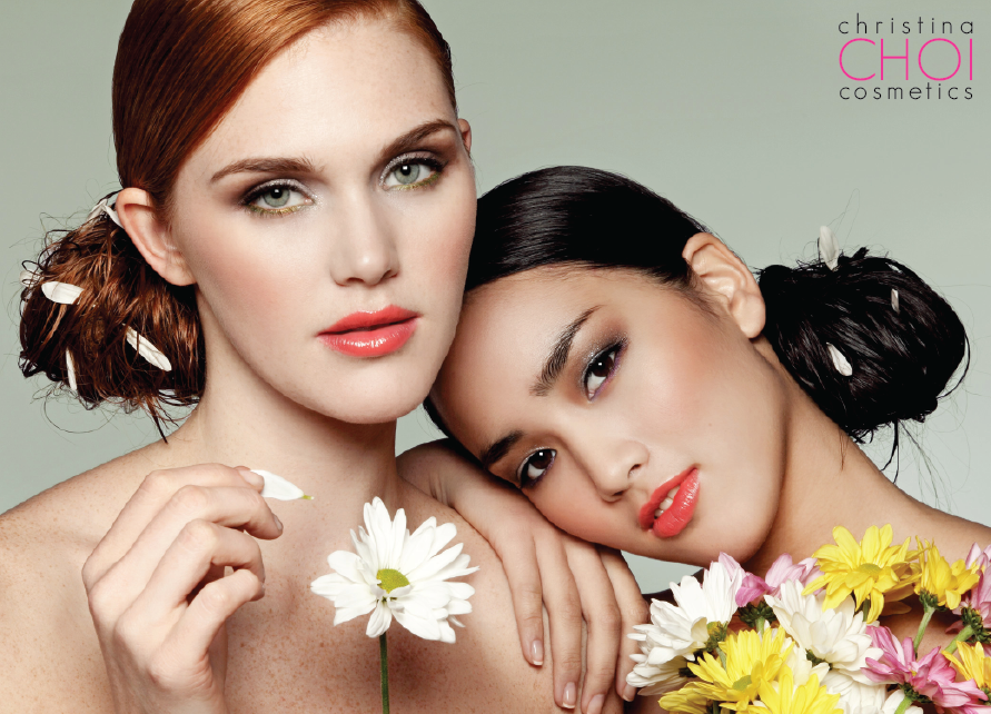 Blooming Beauties Fresh and verdant, these looks give a