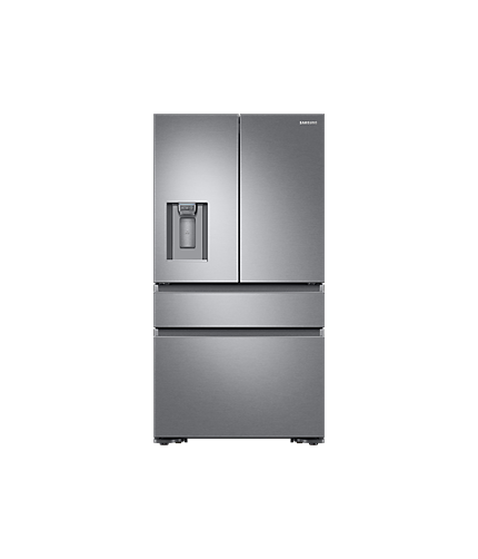 Front Silver Multi Door Fridge