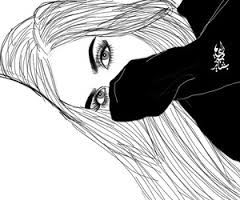 Risultati Immagini Per Tumblr Outlines Drawing Menina Tumblr