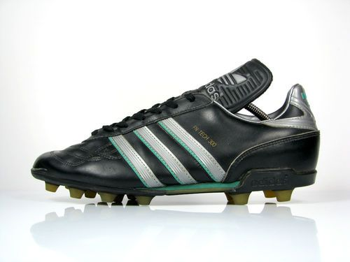 buy online 273f0 1e303 vintage ADIDAS FN TECH 300 Football Boots size UK 10 OG made in 1988 Taiwan    eBay