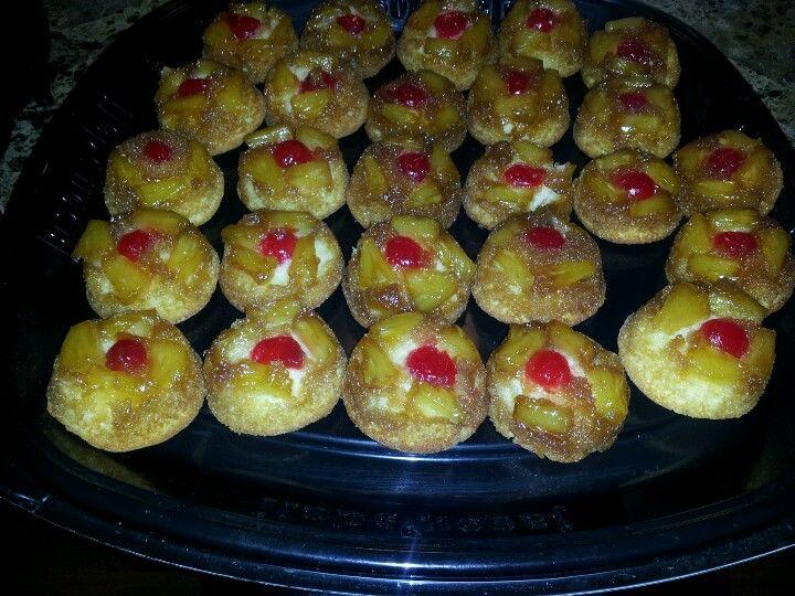 pinapple up side down cupcake