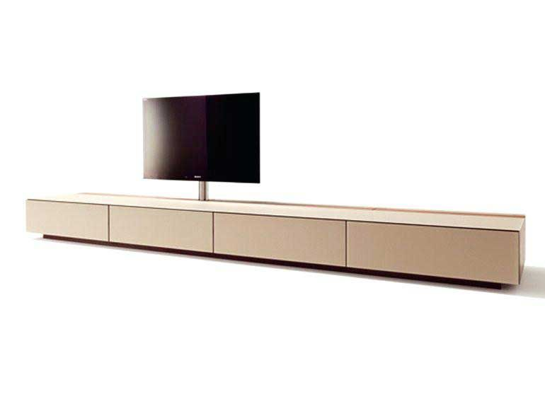 meuble bas tv tele en verre