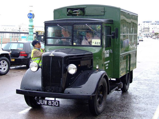 Morris Commercial LC3 GPO van | by classic vehicles