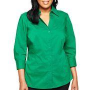 Worthington® Essential Shirt - Plus