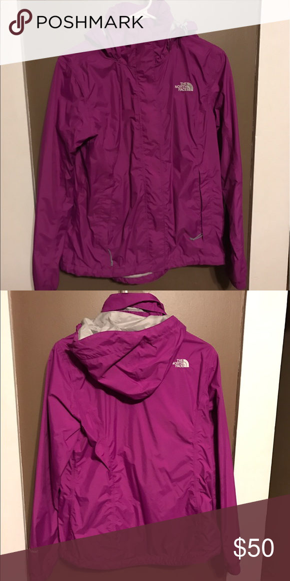 North Face Venture Jacket Love this jacket!! Doesn't fit anymore after having baby. It's light weight, perfect for spring days or summer nights. The North Face Jackets & Coats