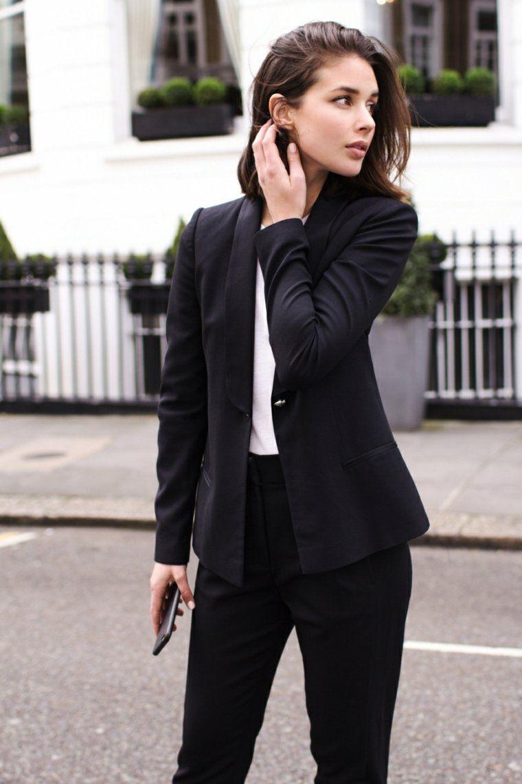 04018452a85f Comment porter un blazer femme  les nouvelles tendances   Black ...