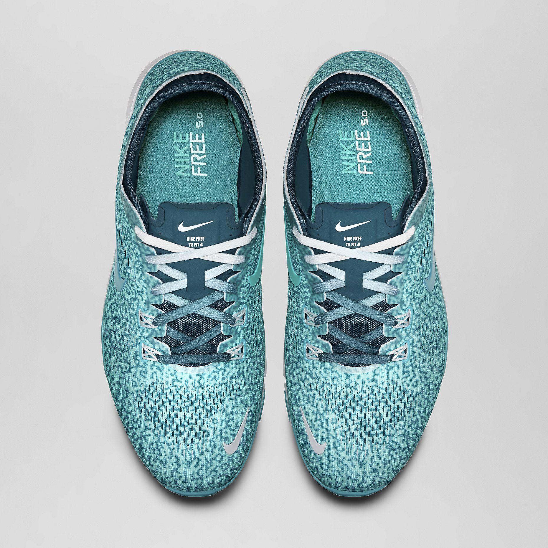 Nike Free 5.0 TR Fit 4 Mezzo Print Women's Training Shoe