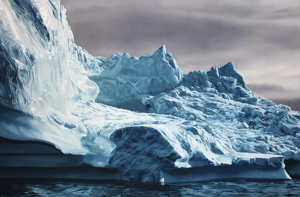 Veja a arte realista de Zaria Forman | LOUCOS CABEÇA http://www.loucoscabeca.com/2014/01/veja-arte-realista-de-zaria-forman.html