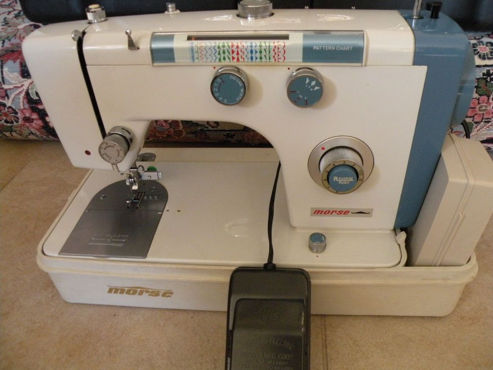 RARE Morse 40 ZigZag Lightweight Portable Sewing MachinePedal Simple Electro Hygiene Sewing Machine
