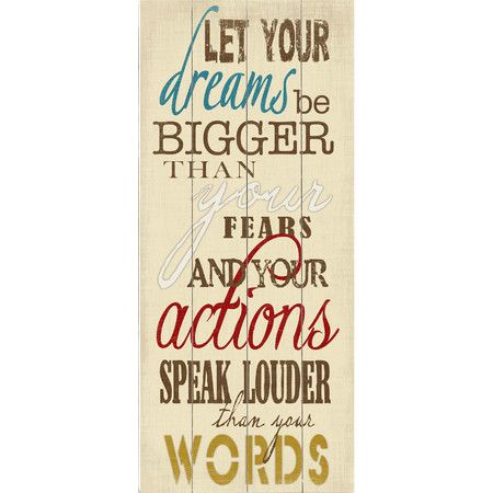 A reminder to embrace life's every adventure, this wood wall decor brings daily inspiration to your home office or entryway.  Produc...