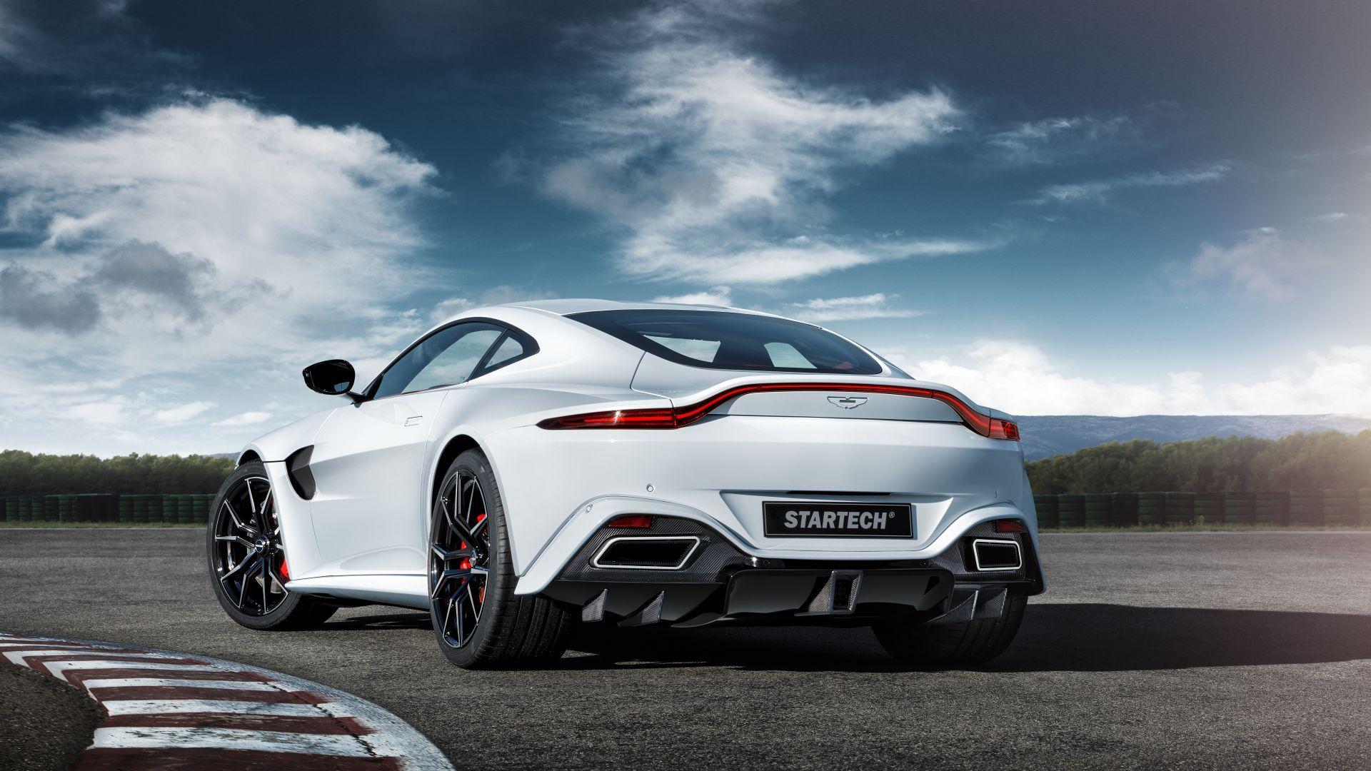 Wallpaper Aston Martin Vantage Startech 2019 Cars Geneva Motor