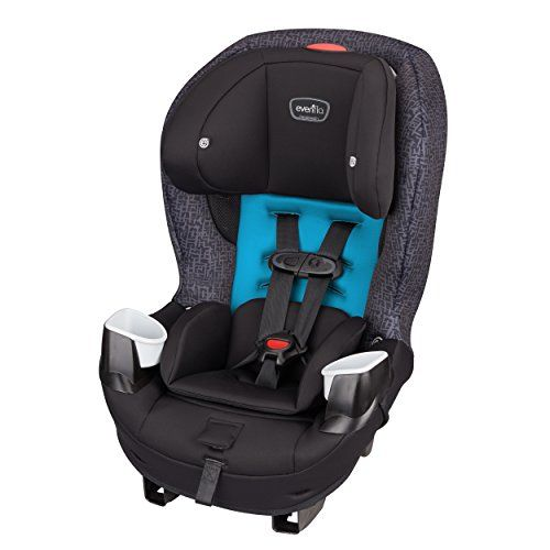 Evenflo Stratos 65 Convertible Car Seat Glacier Car Seats Baby
