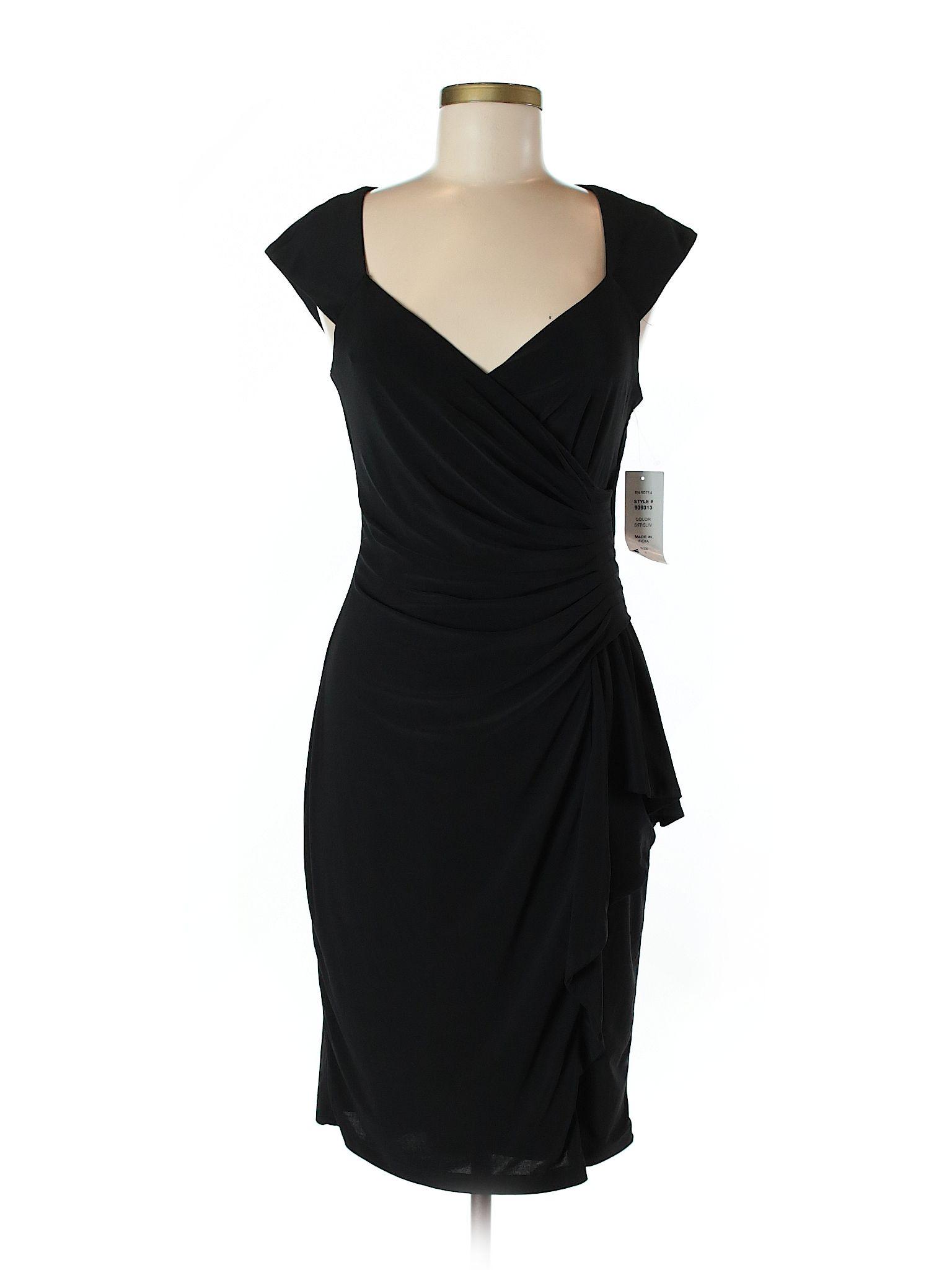 Msk Casual Dress Size 600 Black Womens Dresses  New