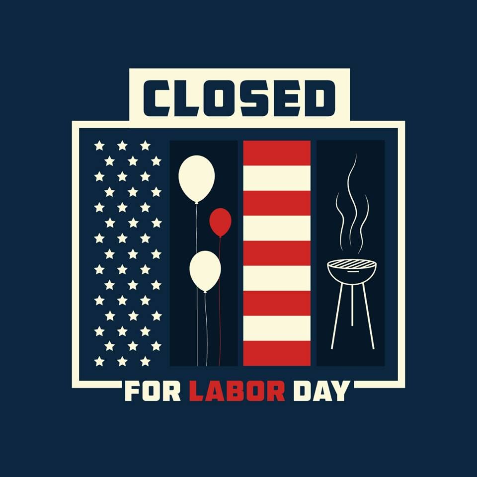 Happy labor day we hope you all have a fantastic weekend