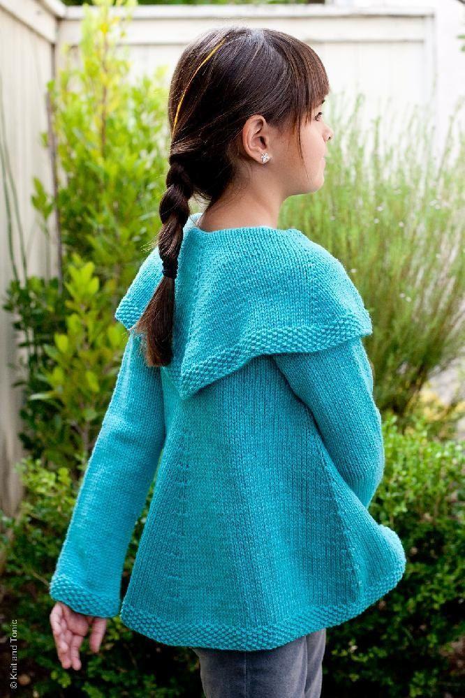 Girlfriend's Swing Coat Knitting pattern by Wendy Bernard ...