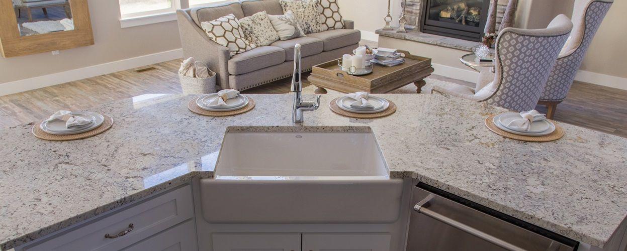 White Ice Granite Natural Stone Arizona Tile
