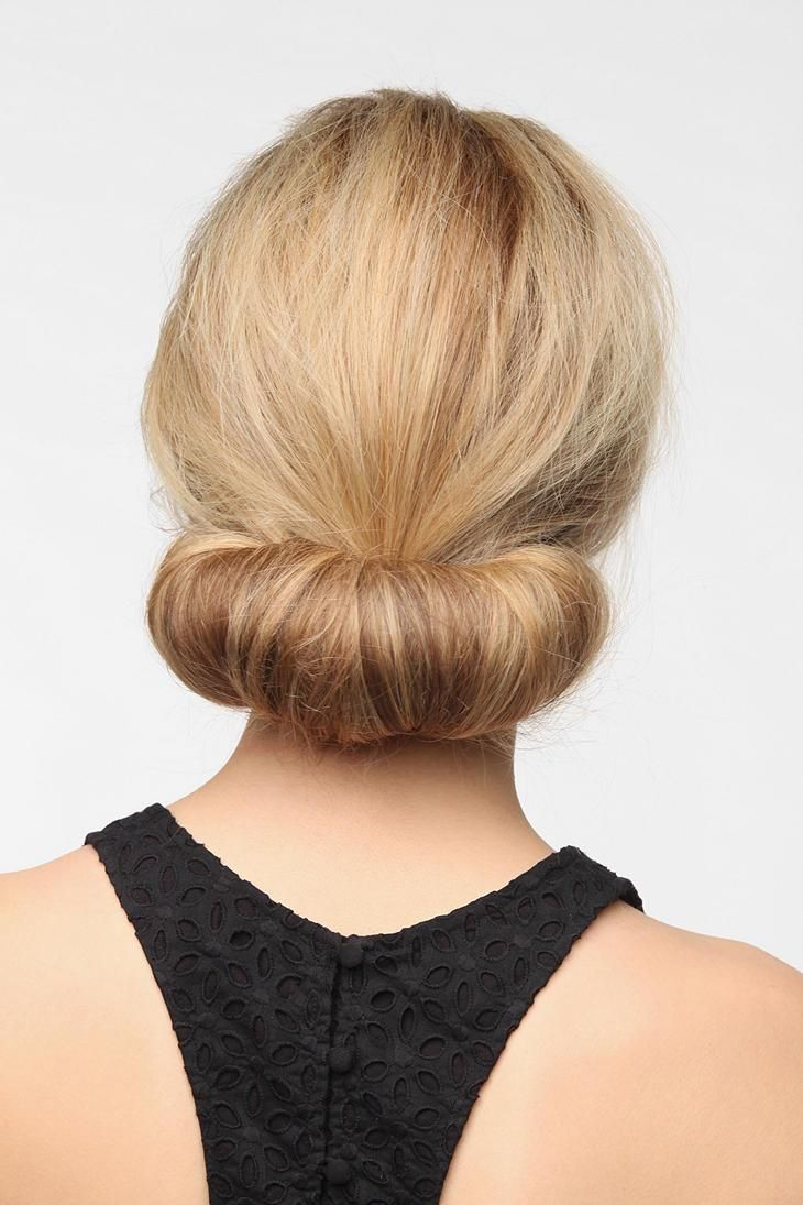 Party hair simplified with this rolly polly hair piece