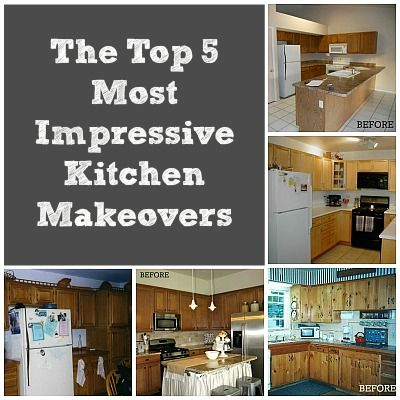 Fresh Kitchen Makeovers before and after Photos