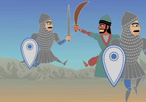 Esta estupenda animación narra el conflicto entre Israel y Palestina de la forma más simple e irónica