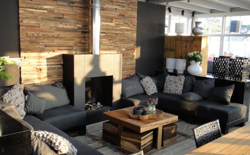 Wohnzimmer Rustikal ~ Wandgestaltung wohnzimmer rustikal die besten rustikales