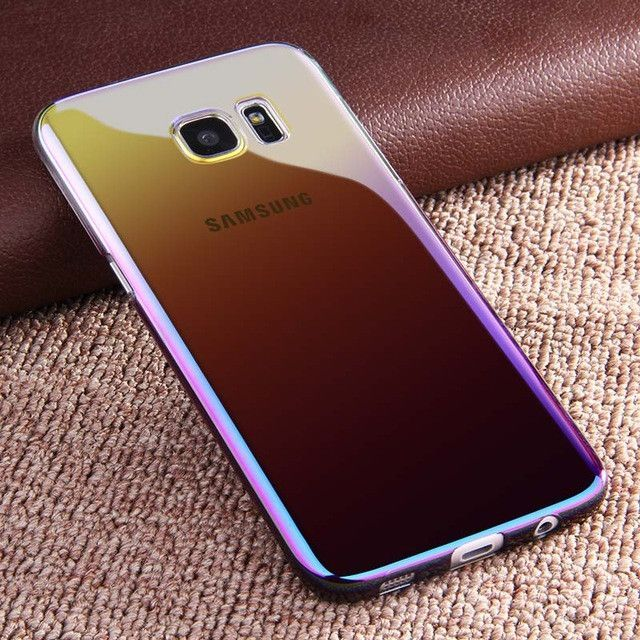 Colorful Gradient Case For Samsung Galaxy S7 Edge S8 S8 Plus Samsung Galaxy S7 Edge Samsung Galaxy S7 Galaxy