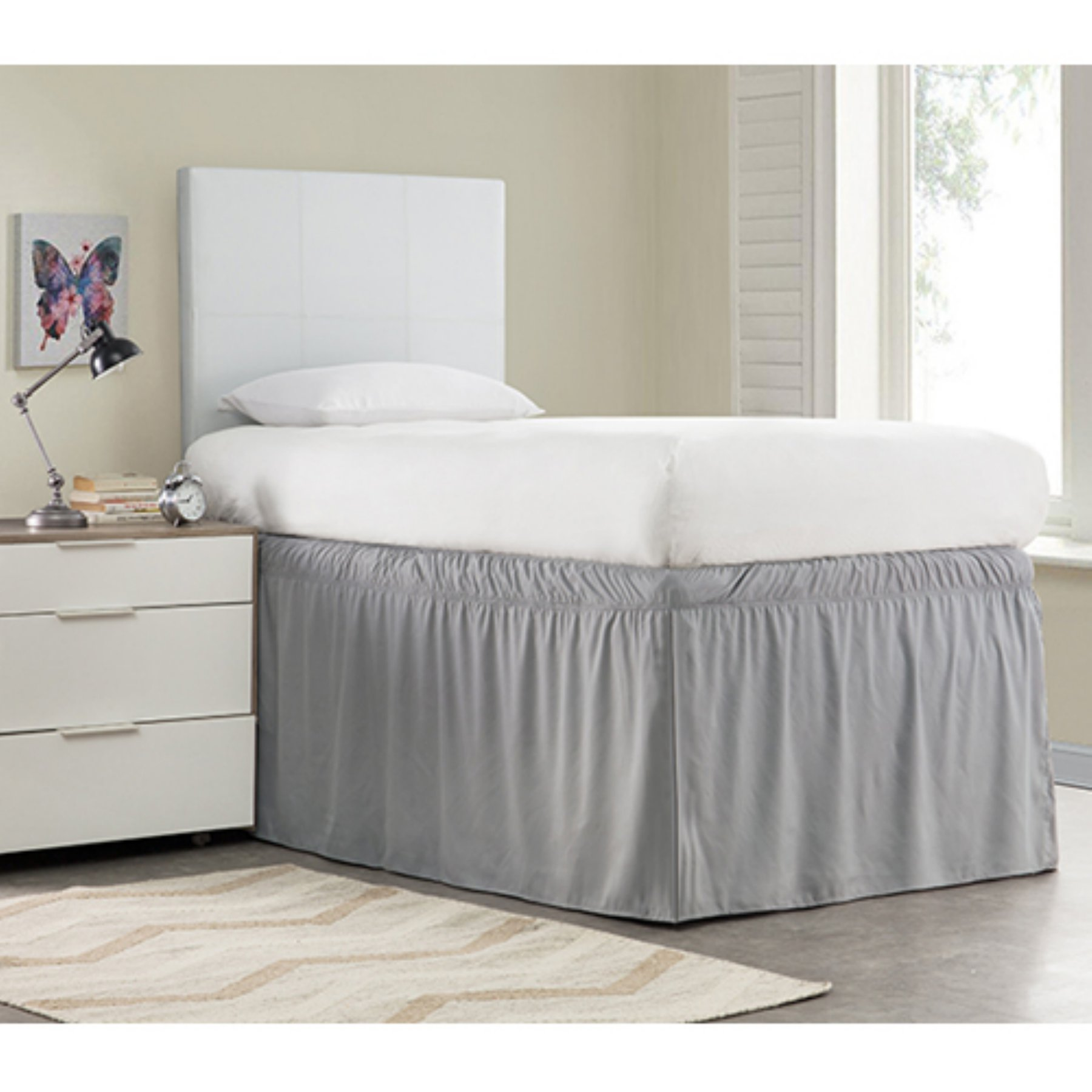 Ruffled Bed Skirt Twin Xl By Byourbed Products Twin Xl Bedding
