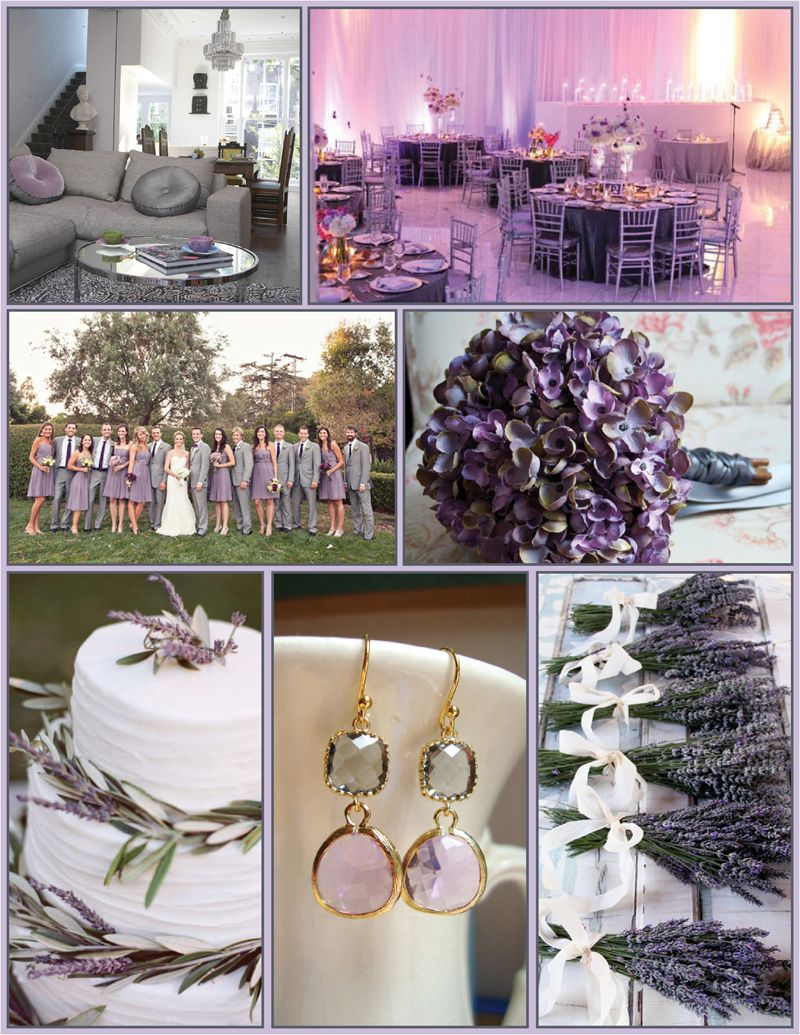 Beautiful Grey And Lavender Wedding Gallery - Styles & Ideas 2018 ...