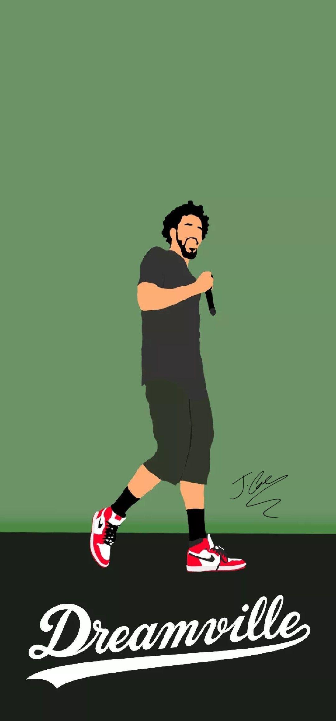Rp J Cole Dreamville Wallpaper J Cole Hip Hop Art Rap Wallpaper