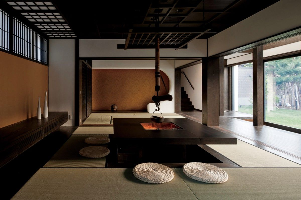 Modern Japanese Interior Japanese Living Pinterest