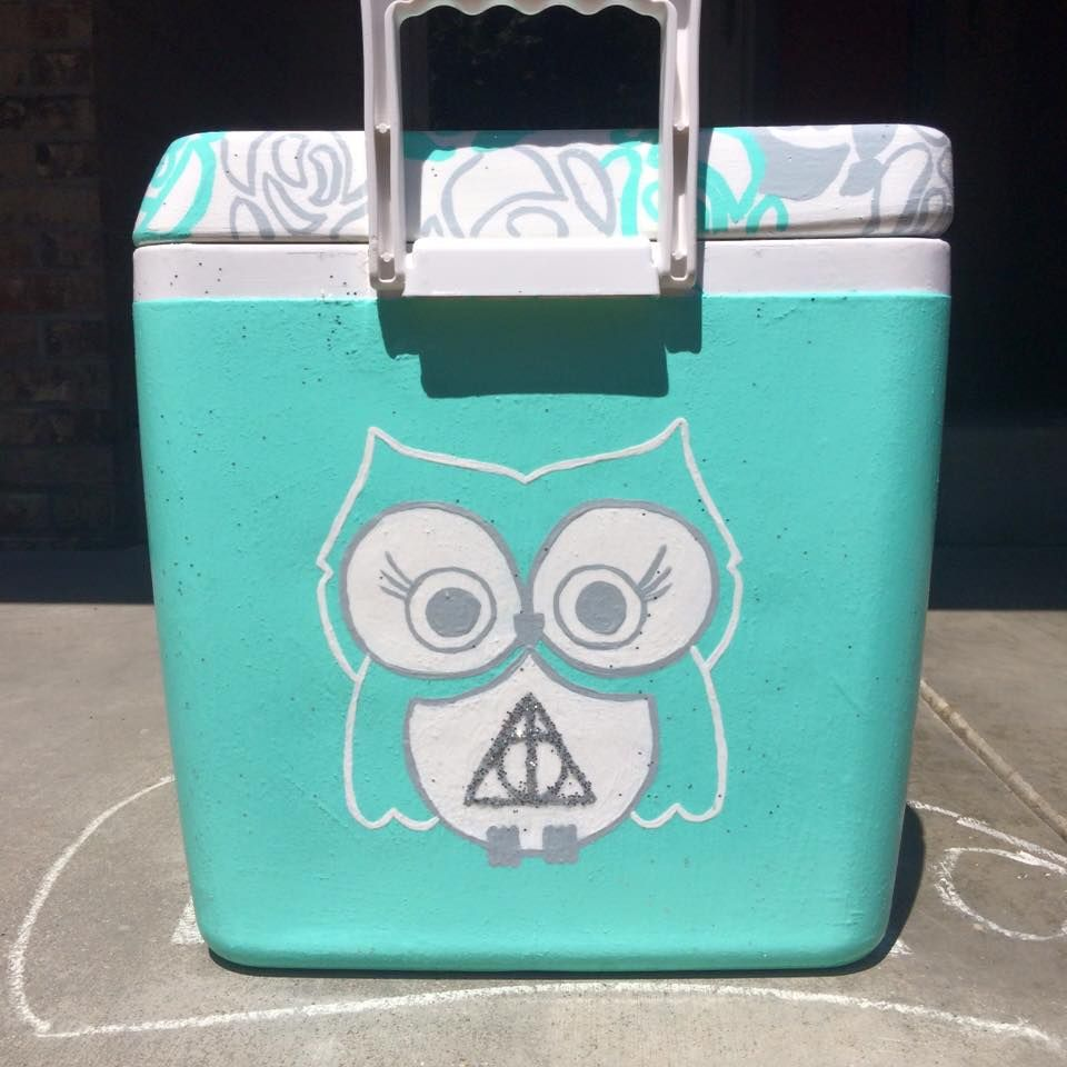 I love how simple yet beautiful this cooler is! Posted on The Cooler Connection FB page and pinning for later.