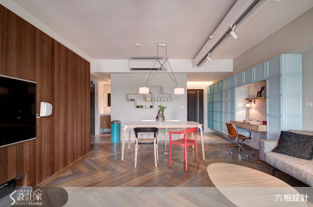 文青最愛減壓小宅   20坪就能擁有混搭色彩風格屋