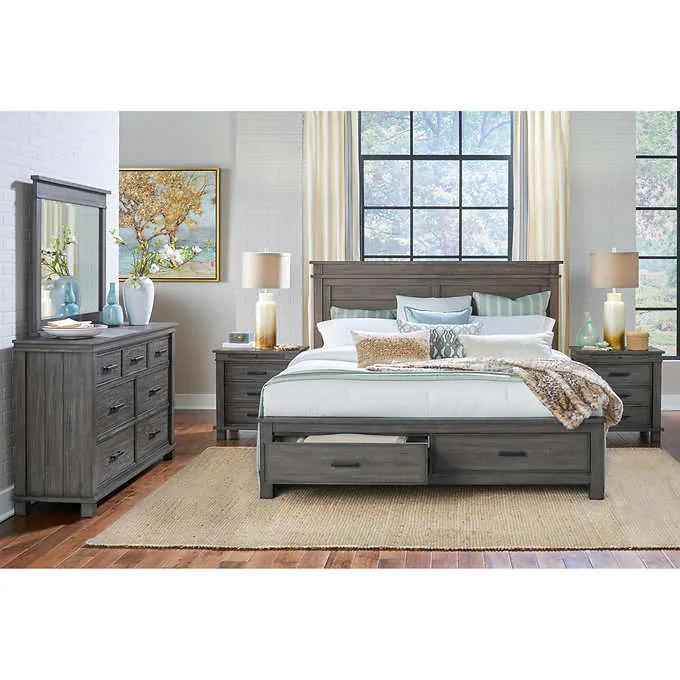 bianca 5piece queen bedroom set in 2020  king bedroom