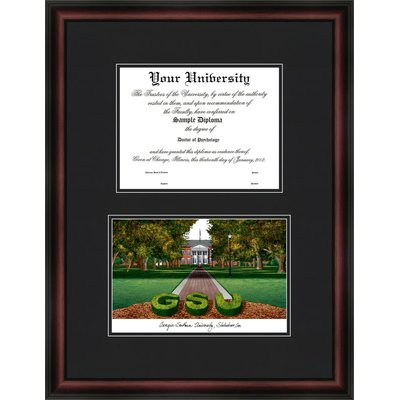 Campus Images Ncaa Georgia Southern Eagles Diplomate Diploma Frame Diploma Frame Picture Frame Sets Picture On Wood