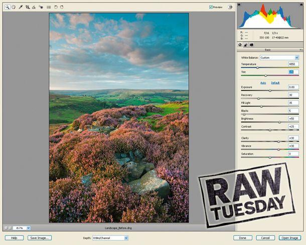 Lightroom camera raw update