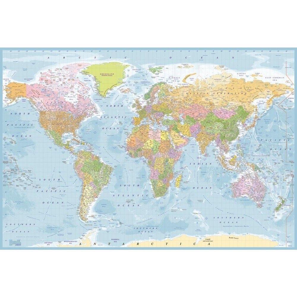 blue map mural 99 world map wallpaperwallpaper