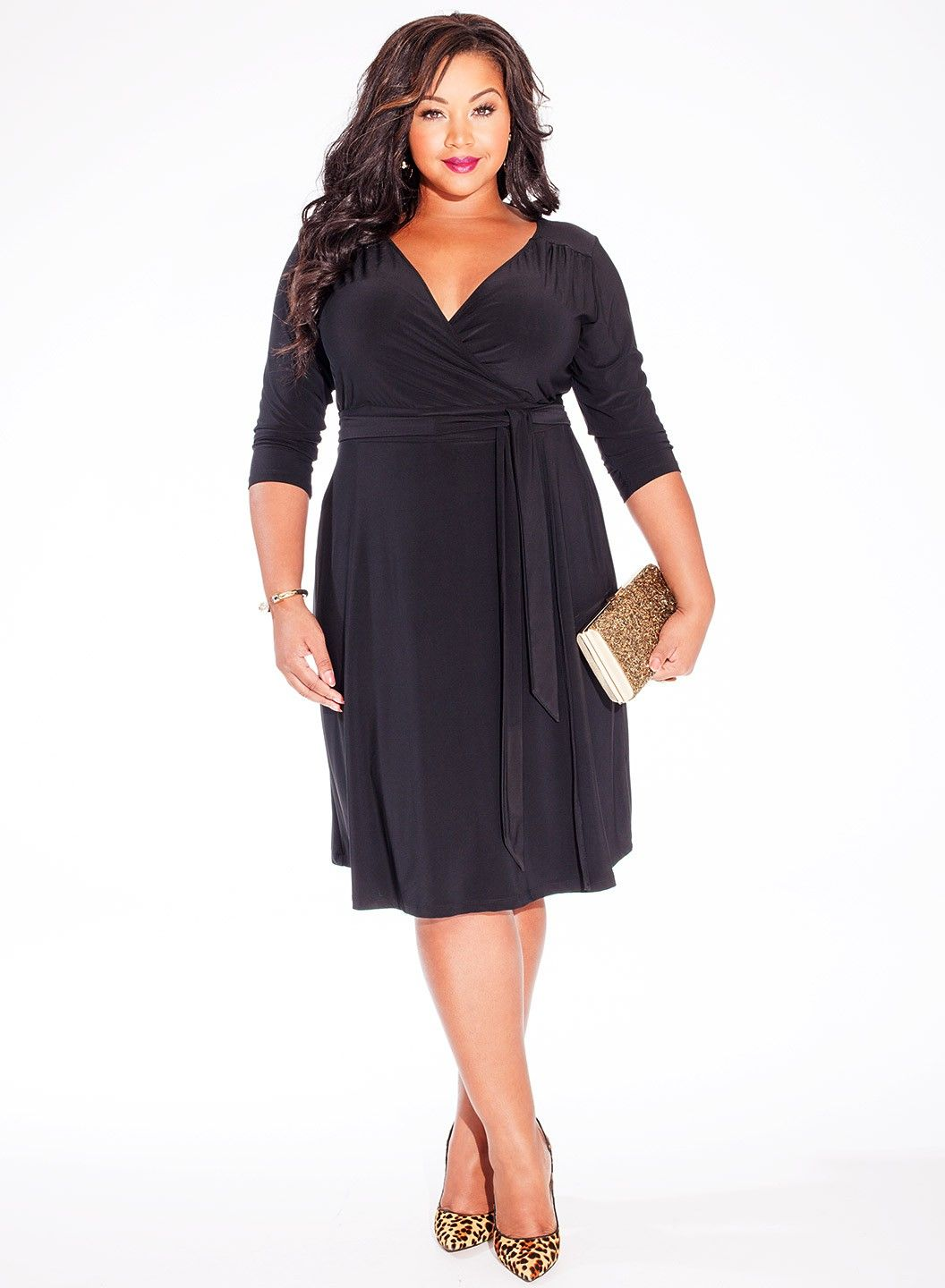 Dominque Dress Black In 2020 Plus Size Outfits Plus Size Cocktail Dresses Fashion