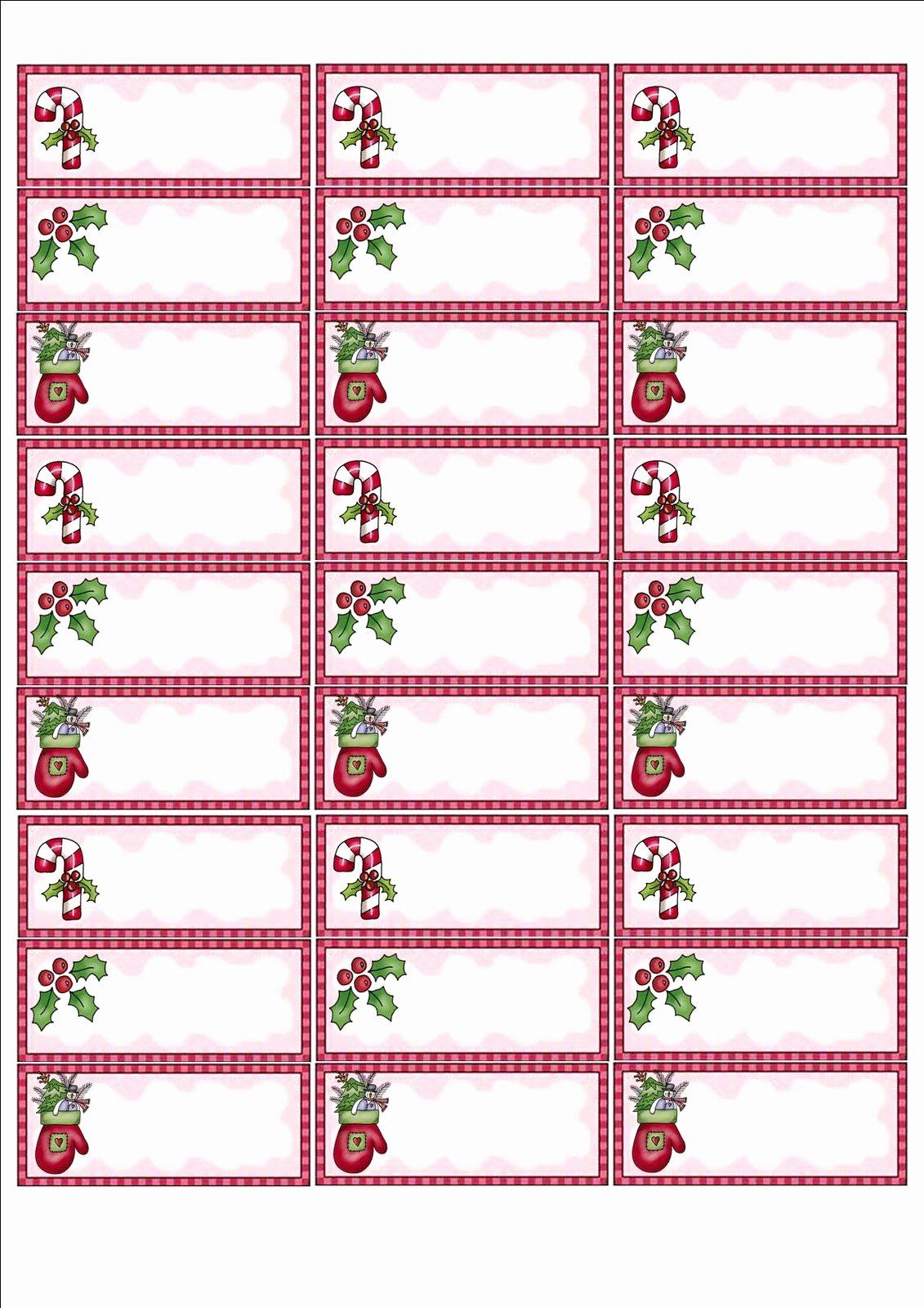 Free Printable Christmas Mailing Labels Fresh Avery 8160 Christmas Gift Labels Christmas Address Labels Christmas Return Address Labels Address Label Template