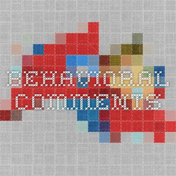 behavioral comments