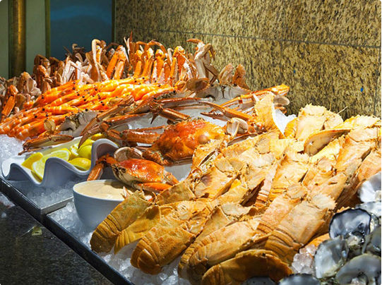 All You Can Eat Seafood Buffet For Two With Tea And Coffee