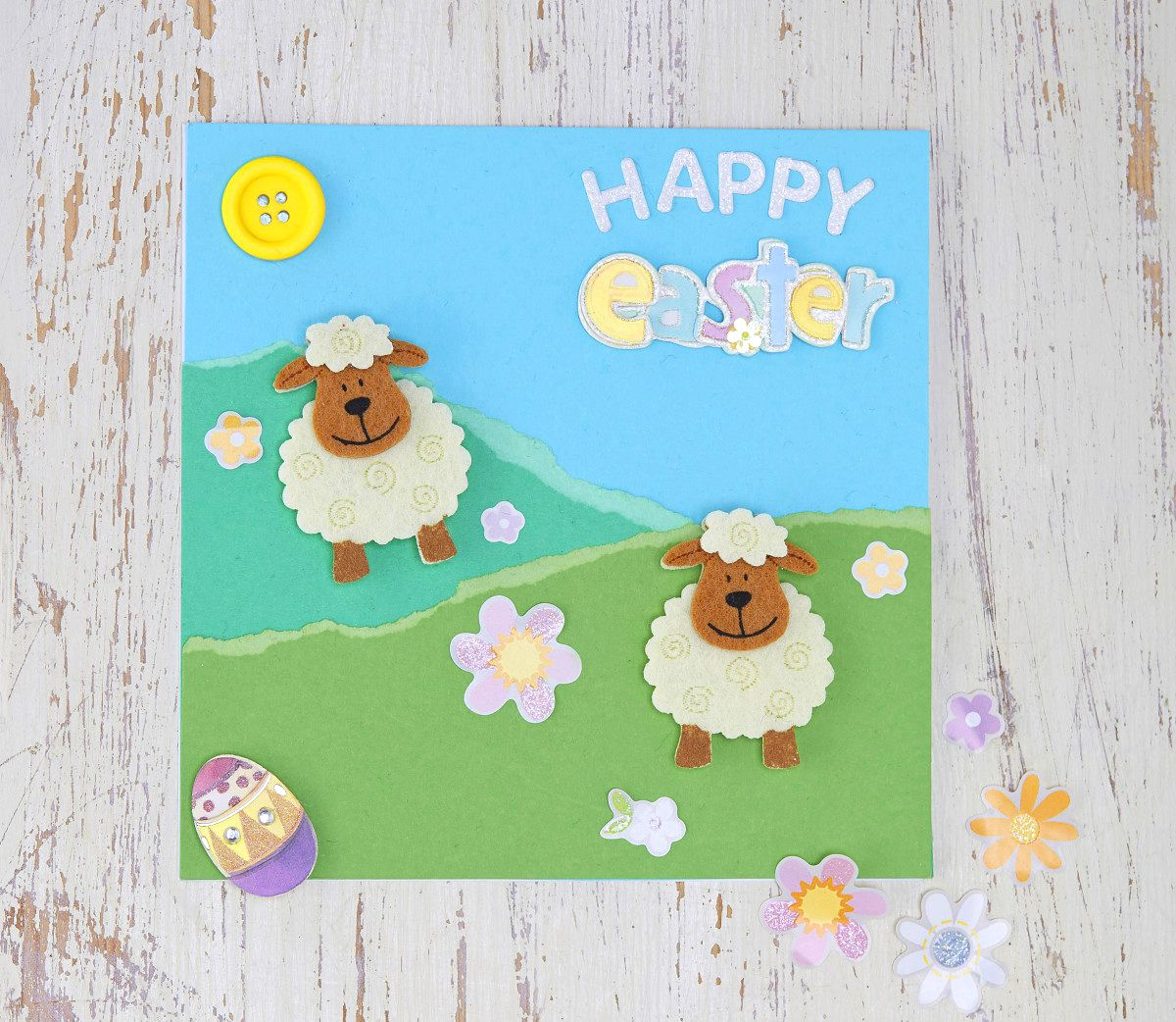 5 Easy Easter Cards to Make – How to Make a Easter Card