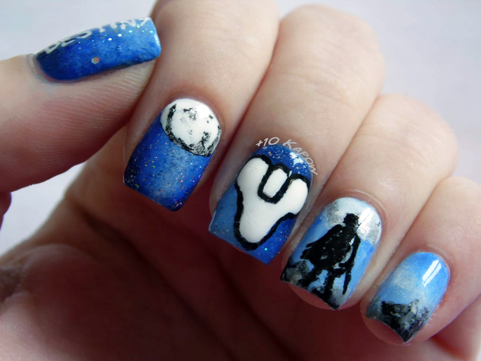 Video game nail designs images nail art and nail design ideas plus10kapow destiny nails geekery pinterest nail art videos plus10kapow destiny nails nail art videosnerdnails gamesnail nail prinsesfo Image collections