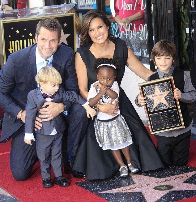 Mariska W Her Family Hollywood Walk Of Fame Mariska Hargitay