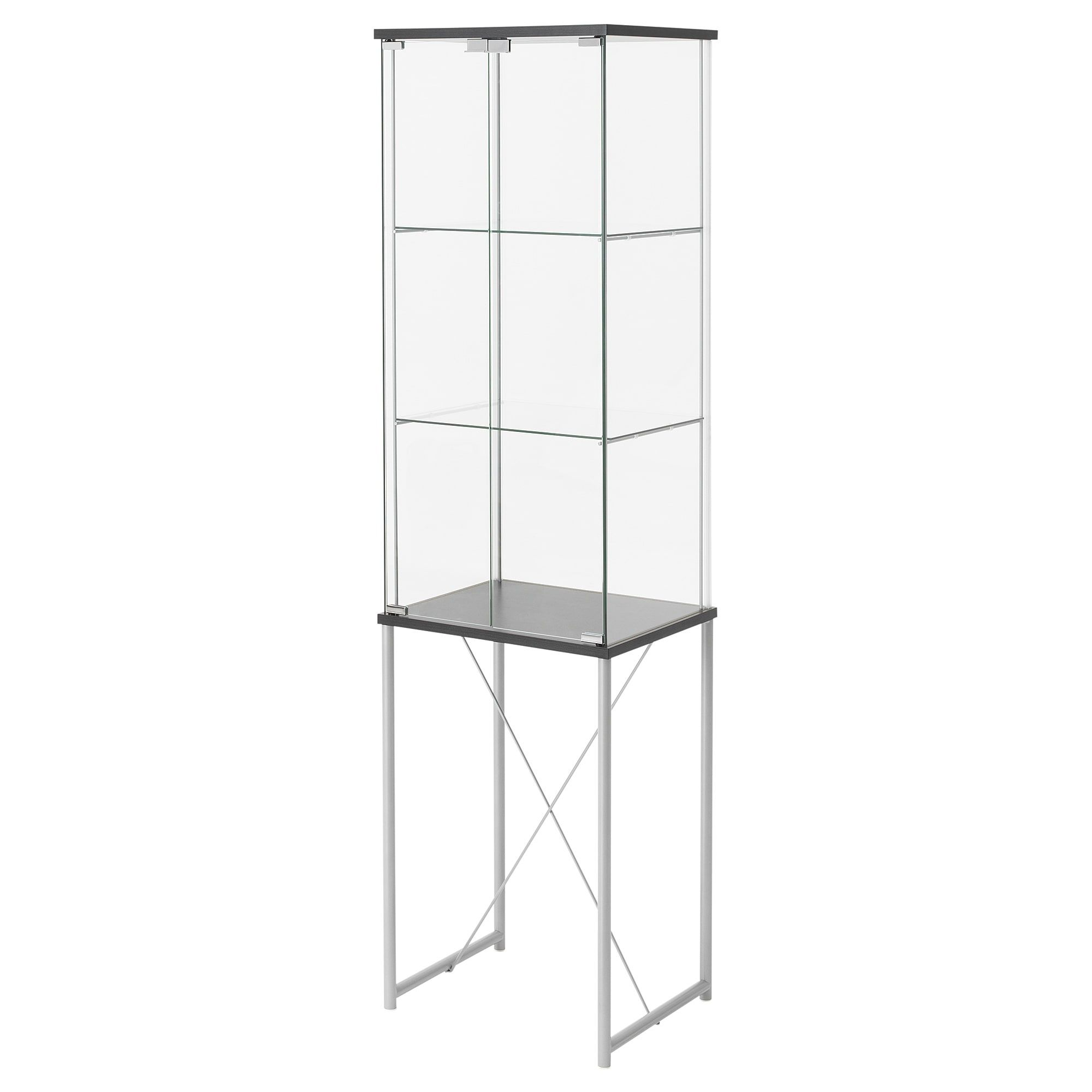 Ikea Glasregal Schwarz Vitrine FÄrgstark Schwarz In 2019 Products Glass Cabinet Doors
