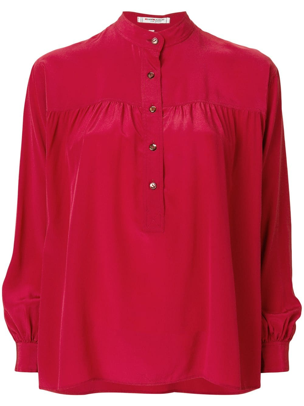38cec20b15b Yves Saint Laurent Pre-Owned Button Up Blouse in 2019 | Products ...