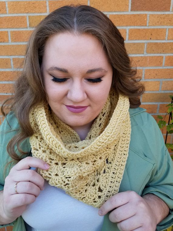 Crochet cowl by TooLegitToKnitCrafts on Etsy