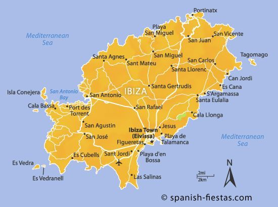 Image Result For Map Of Ibiza Showing Es Vedra Hotel Ibiza Ibiza Island Ibiza